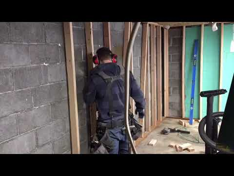 how-to-frame-basement-walls-and-garage-walls