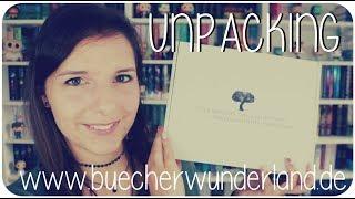 UNPACKING | Bücherwunderland Buchbox Live Test | melodyofbooks