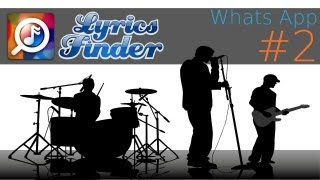 Lyrics Finder - Whats App #2 (App Review)