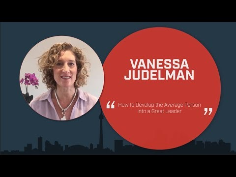 AC Speakers' Vanessa Judelman - How to Develop the Average Person into a Great Leader