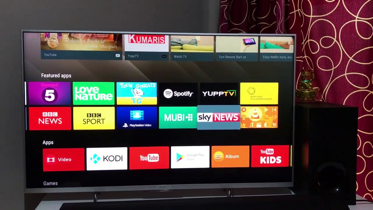 Best Media player for Smart TV | VLC Player TV App | Play Movies Videos on  TV | Sony Android TV 4K
