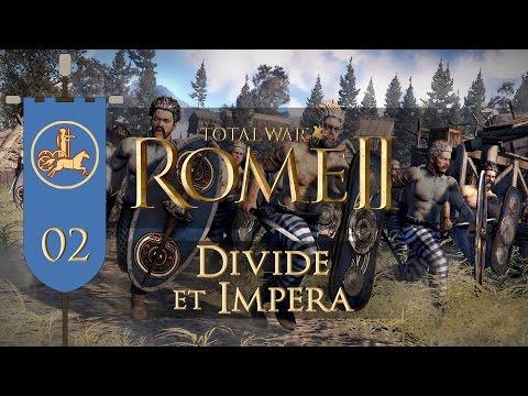 Total War: Rome II (Divide et Impera) - Iceni - Ep.02 - Moridunon's Sieges!