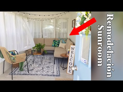 Before and After: Sunroom Makeover 🤭/ Sunroom Decoration Ideas