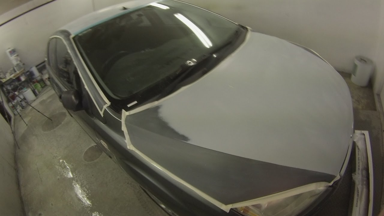fixing car paint damage  How to fix Sun Damaged Paint - YouTube