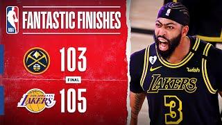 Lakers Take 2-0 Series Lead Off AD's Game-Winning Triple‼