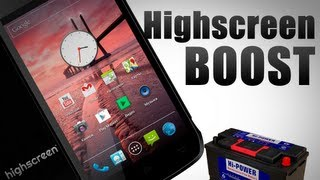 Highscreen Boost - Самый Долгоиграющий Android. Обзор AndroidInsider.ru