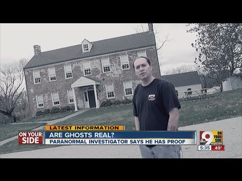 Are ghosts real? Mike Palmer says he has proof