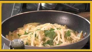 Pasta Leonessa: Mafaldelle Con Patate, Pancetta E Provola