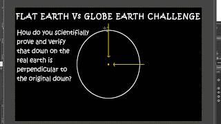 Flat Earth Vs Globe Earth Down Direction Challenge