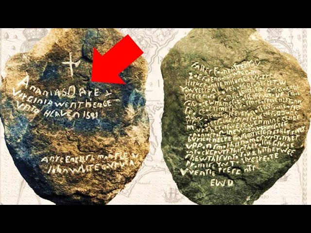 This Engraved Rock Could Hold The Answers To One Of America's Greatest Mysteries
