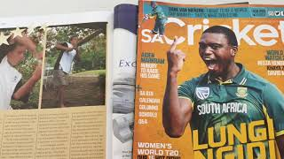 David Miller's appearances … in SA Cricket magazine