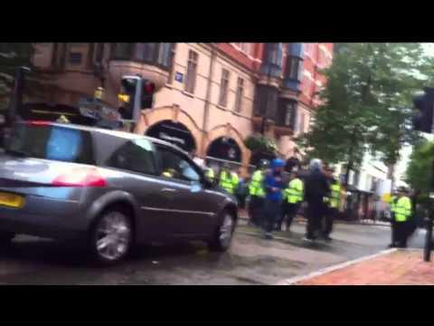 Riots spread to Birmingham