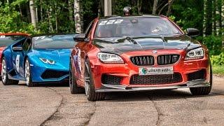 BMW M6 vs Lamborghini Huracan vs Audi R8