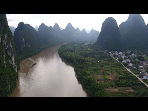 Wuzhou and Guilin, where Star Wars was filmed in China