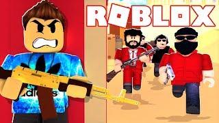 Eu matei toda a equipe em Roblox arsenal! Invicto campeão do Arsenal (must Watch)
