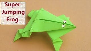 how to make paper frog easy best-How to Make a Paper Frog that Jumps High and Far
