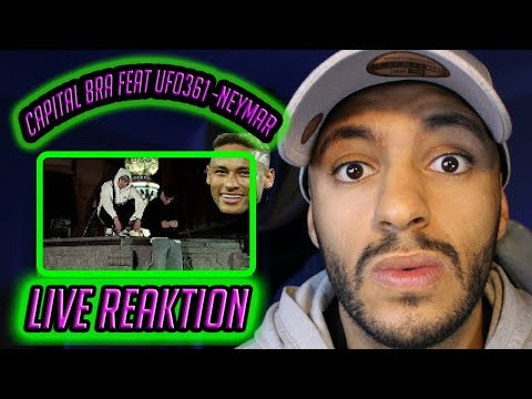 CAPITAL BRA feat. UFO361 - NEYMAR (PROD. THE CRATEZ) - Live Reaktion