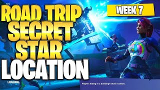 "Fortnite Battle Royale Staffel 5 Woche 7 Geheime Battlestar Lage (""Road Trip"" Herausforderungen)"