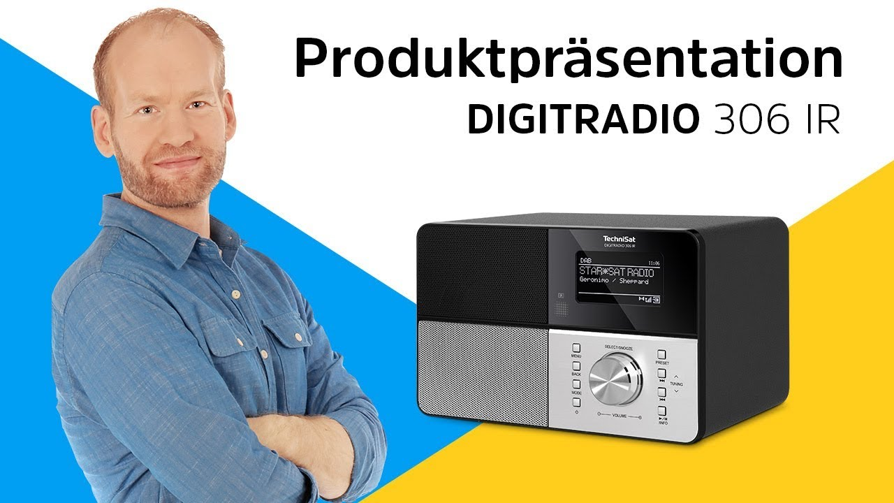 Video: DIGITRADIO 306 IR | Internetradio in aufregendem Design. | TechniSat