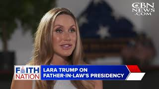 'He Truly Is a Man of God': Lara Trump Targets 'Fake News' in Defense of the President