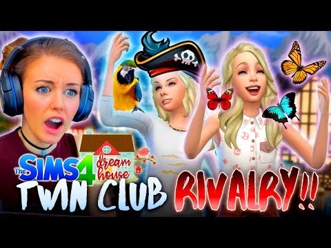 👭THE TWINS JOIN CLUBS!🌺(BUT NOT THE SAME ONE...The Sims 4 #36! 🏡)