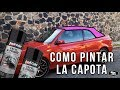 """VW Golf Cabrio   Proyecto 05 """"Pintando Capota""""   GDIER7"""
