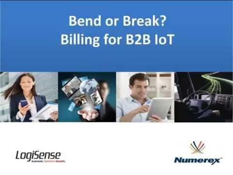 Billing for IoT - LogiSense & Numerex Webinar