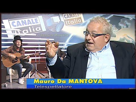 Mauro da Mantova a Notizie Oggi (Canale Italia) del 25.10.2017