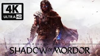 MIDDLE EARTH: SHADOW OF MORDOR Game Movie (All Cutscenes) 4K 60FPS Ultra HD