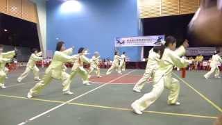 三十二式太极剑 Taijijian (Tai Chi Sword), 32 Forms 蔡厝港第四分区居委会 19 Sep 2015