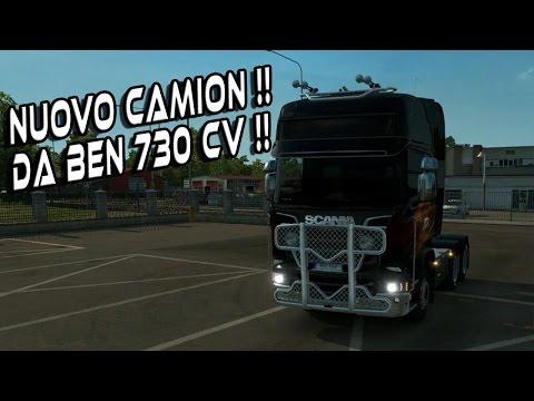 EURO TRUCK SIMULATOR 2 - NUOVO CAMION SCANIA DA 730 CV!! - GAMEPLAY ITA NYKK3