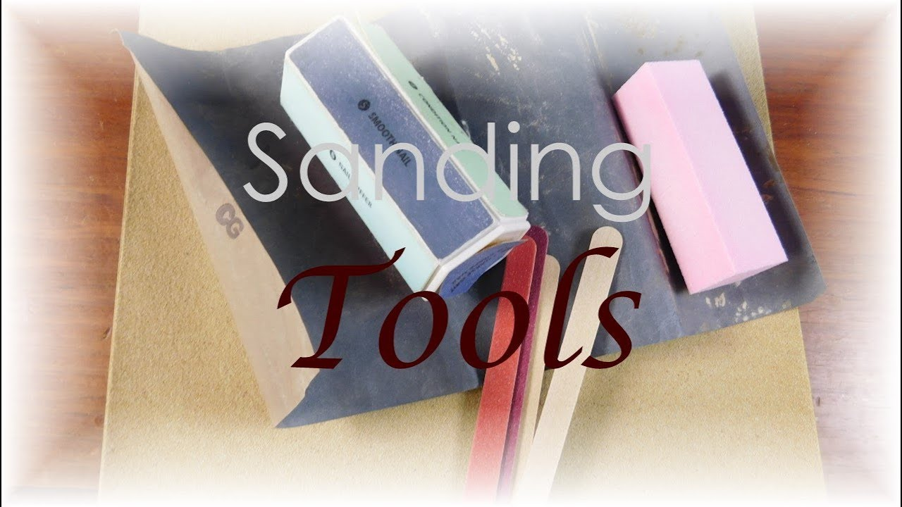 Tools for Making Dollhouse Miniatures- Sanding Tools