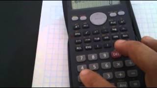 utilizar seno, coseno, tangente en una calculadora