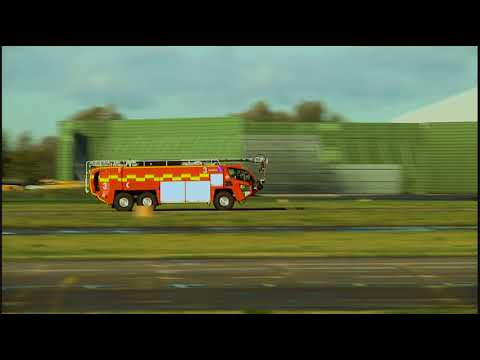 Manchester Airport Fire Engines HEVC #1