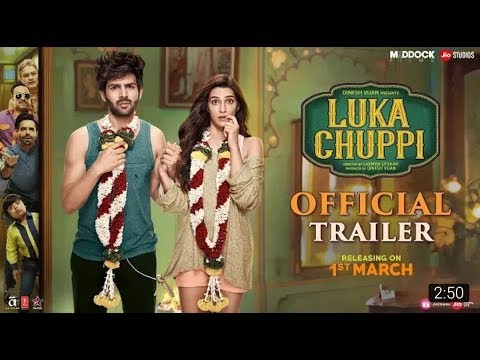 Download Luka Chuppi Official Trailer | Kartik Aaryan,Kriti Sanon,Pankaj Tripathi,Aparshakti Khurana| 1 March