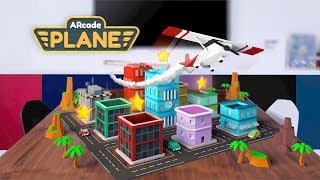 ARcade Plane iOS Official Trailer - Augmented Reality AR iPhone/iPad game