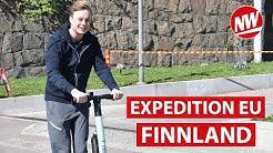 Digitales Helsinki: Unterwegs mit Taxi-App und E-Scooter | Expedition EU (Teil 3)