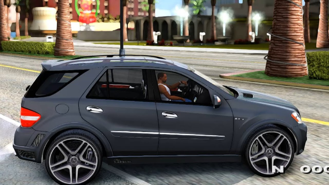 gta san andreas 2009 mercedes benz ml63 amg brabus. Black Bedroom Furniture Sets. Home Design Ideas
