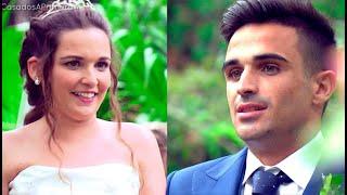 Tamara enamorada y Álvaro decepcionado en el altar - Casados a primera vista