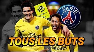 TOUS LES BUTS DU PSG 2017-2018 LIGUE 1 (Première partie de saison)
