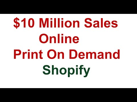 How Nishant Bhardwaj Has Done Over $10 MILLION In Sales Online With Print On Demand & Shopify