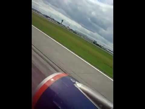 Aeroflot Russian IST-MOW Landing
