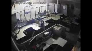 Security Camera in El Centro California captures 7.2 Magnitude Earthquake