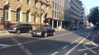 One day Carspotting Frankfurt - 918 Spyder, 599 GTO, 2x Aventador, ...