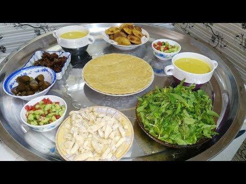 فطور اليوم الثاني من رمضان 2018  اكلات رمضان #ندى_من_البيت_العراقي