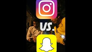 INSTAGRAM VS. SNAPCHAT: A DISCUSSION (VERTICAL VLOG)