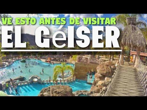 El géiser Tecozautla Hidalgo, Balneario de aguas termales