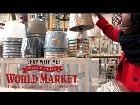 SHOP WITH ME AT WORLD MARKET! |UNIQUE HOME DECOR ITEMS