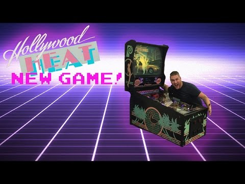 New Game HOLLYWOOD HEAT Pinball!!