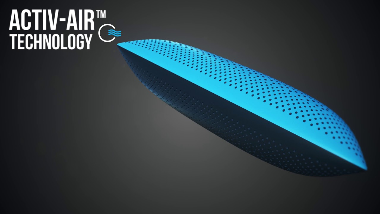 CarbonIce Pillow // 7-in-1 Bacteria Protection Cooling Pillow video thumbnail